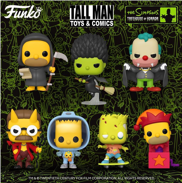 Simpson's Treehouse of Horror Bundle Funko Pop! Vinyl television