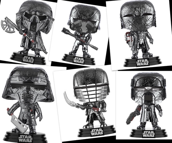 Star Wars knights of Ren set Funko Pop! Vinyl Figure preorder