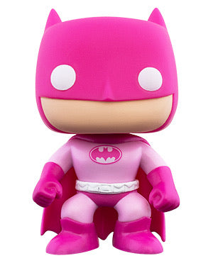 Breast cancer awareness Batman dc comics Funko Pop! Vinyl figure