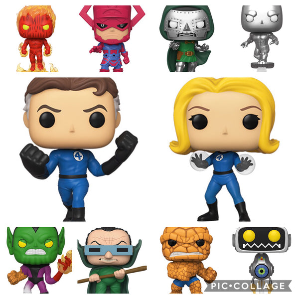 Fantastic Four full set Funko Pop! Vinyl Figure