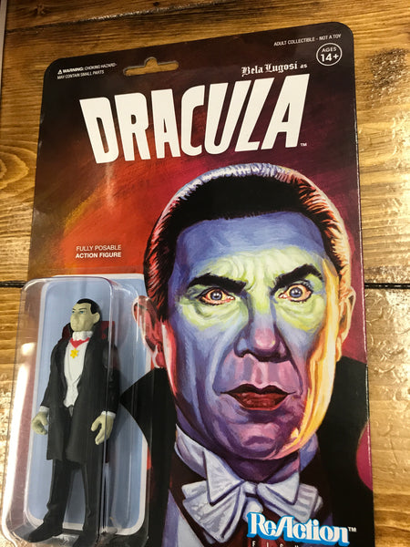 Super 7 Universal Monsters Dracula REACTION FIGURE  MOC new
