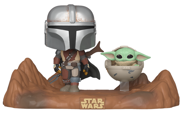 Mandalorian moment Mando and Child Funko Pop! Vinyl figure star wars