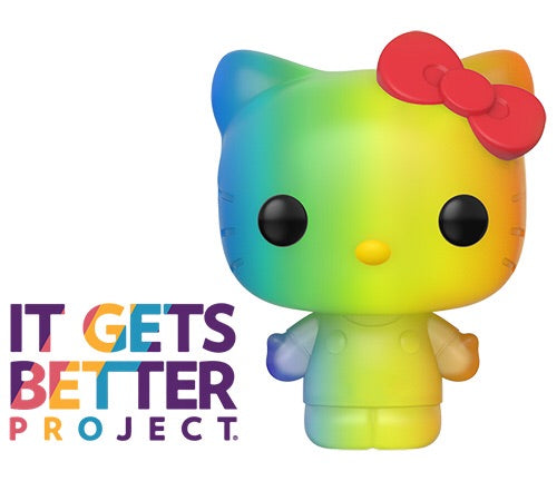 Pride 2020 Hello Kitty (RNBW) Funko Pop! Vinyl Figure