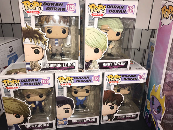 Duran Duran set Funko Pop! Vinyl figure set 2020