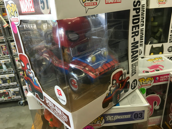 Spider-man buggy mobile ride exclusive Funko Pop! Vinyl figure marvel