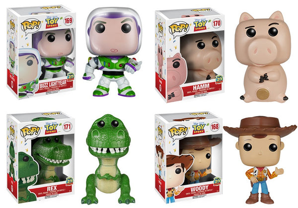 Toy Story 20th Anniversary Set Funko Pop Vinyl Tall Man Toys Comics