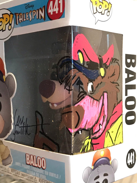 Disney Afternoon artist Len Smith Artwork signed Funko Pop Vinyl figure cartoon STORE