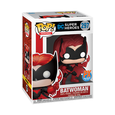 Batman Batwoman PX exclusive Funko Pop! Vinyl figure DC Comics