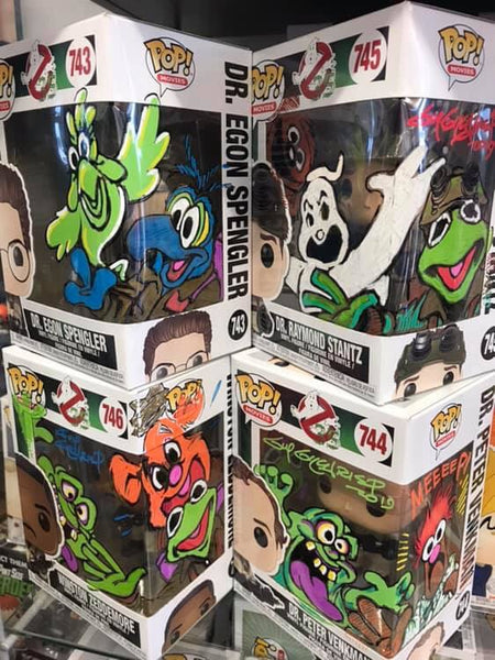 Guy Gilchrist Ghostbusters pops for Patients preorder