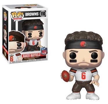 NFL Baker Mayfield Draft Funko Pop! Vinyl Figure sports
