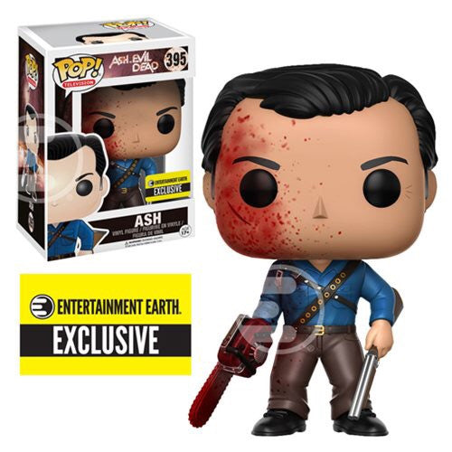 Ash Army of Darkness bloody exclusive Funko Pop! Vinyl figure horror STORE