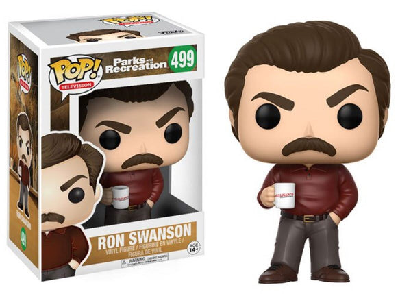 Parks and Recreation Ron Swanson Funko Pop vinyl figure TELEVISION