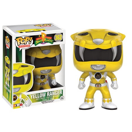 Power Rangers yellow ranger FUNKO Pop! Vinyl figure Television
