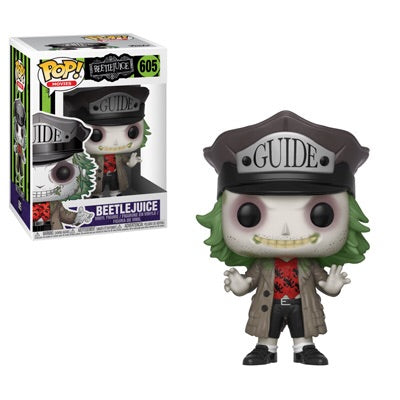 Beetle juice version 2 horror driver Funko Pop! Vinyl figure