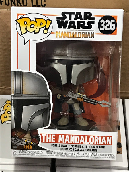 The Mandalorian Mando 326 Funko Pop! Vinyl figure Star Wars