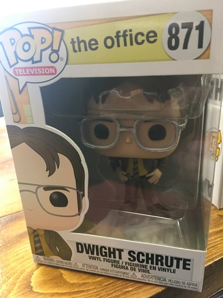 The Office Dwight Schrute Funko Pop! Vinyl Figure television