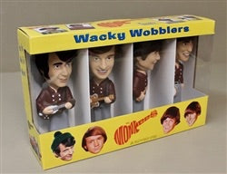The Monkees bobble head set very rare Funko wacky wobblers