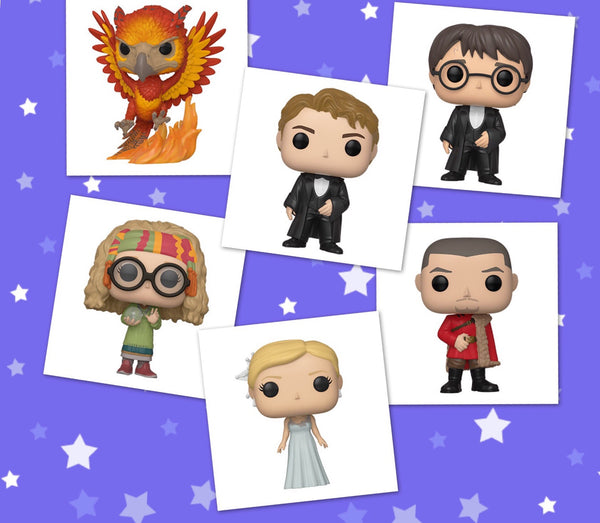 Harry Potter Yule Set of 6 Funko Pop! Vinyl figure