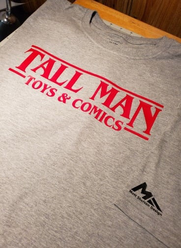 Tall Man Toys ST shirt - preorder - XL