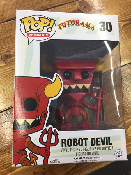 Futurama Robot Devil Retired Funko Pop! Vinyl figure store