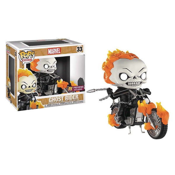 Marvel Ghost Rider ride px exclusive Funko Pop! Vinyl figure 2020