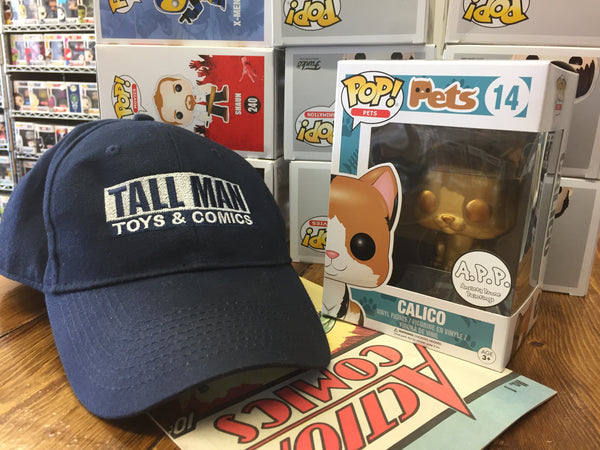 Tall Man Toys and Comics baseball cap Hat – Tall Man Toys   Comics 636fdf28d55