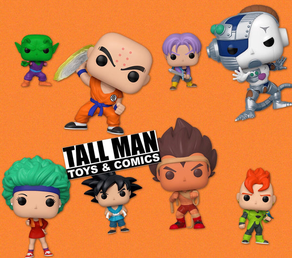 Dragonball Z set of 8 Funko Pop! Vinyl figure preorder new