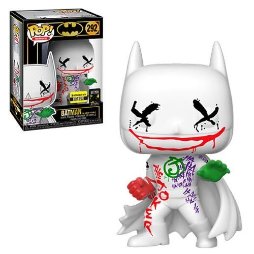 Batman Joker wild 80th Exclusive Funko Pop! Vinyl figure dc comics
