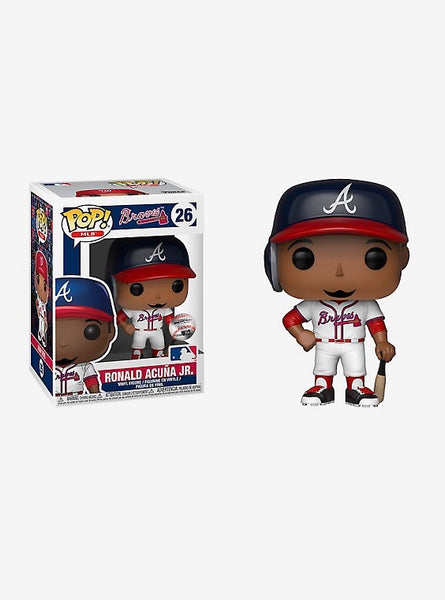Ronald Acuna jr Atlanta Braves MLB Funko Pop! Vinyl figure sports LIMIT ONE