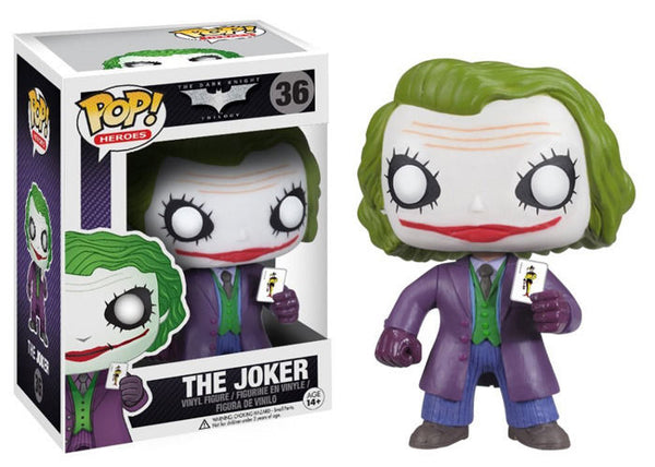 Dark Knight Joker Funko Pop! Vinyl figure batman dc comics
