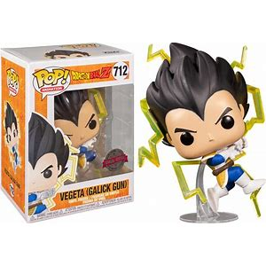 DBZ Vegeta Galick Gun exclusive Funko Pop! Vinyl figure anime