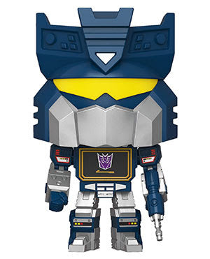 Hasbro retro toys Transformers Soundwave Funko Pop! Vinyl figure cartoon