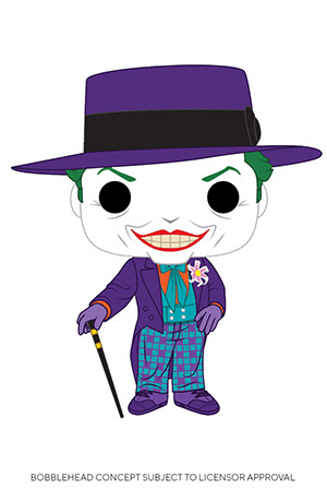 Batman 1989 Joker w/hat Funko Pop! Vinyl Figure DC Comics