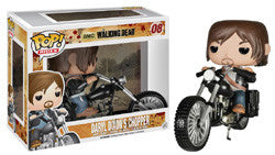 Walking Dead Daryls Bike Chopper Rides Funko Pop! Vinyl figure STORE