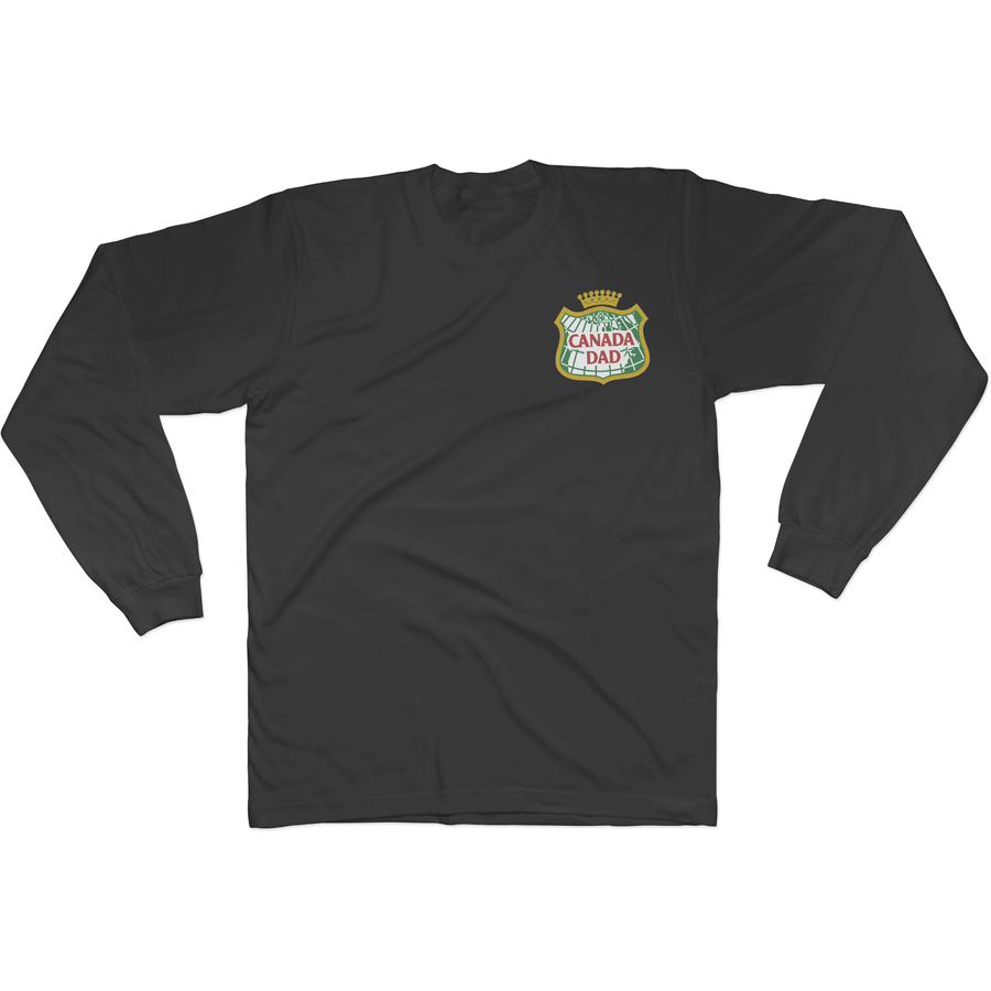 Canada Dad Long Sleeve Tee