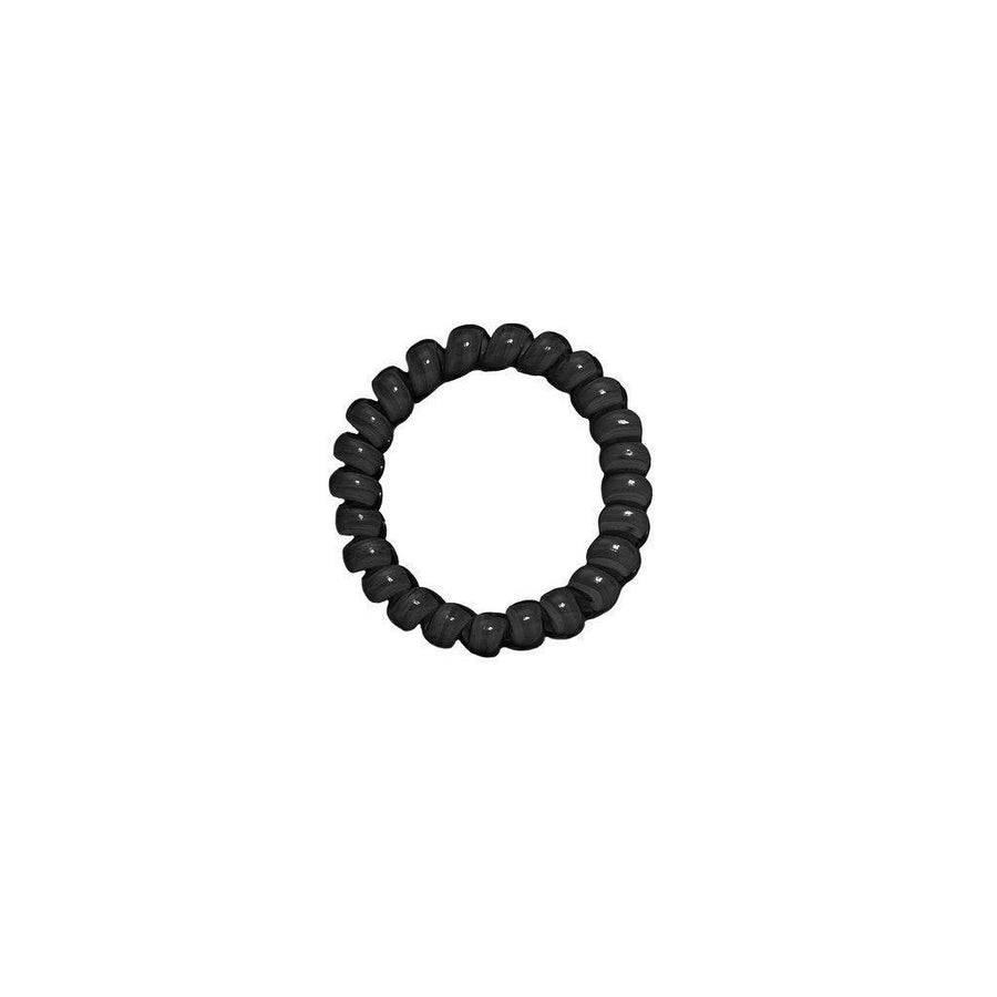 Classic Black Elastics Hair Ties (Pack of 3)