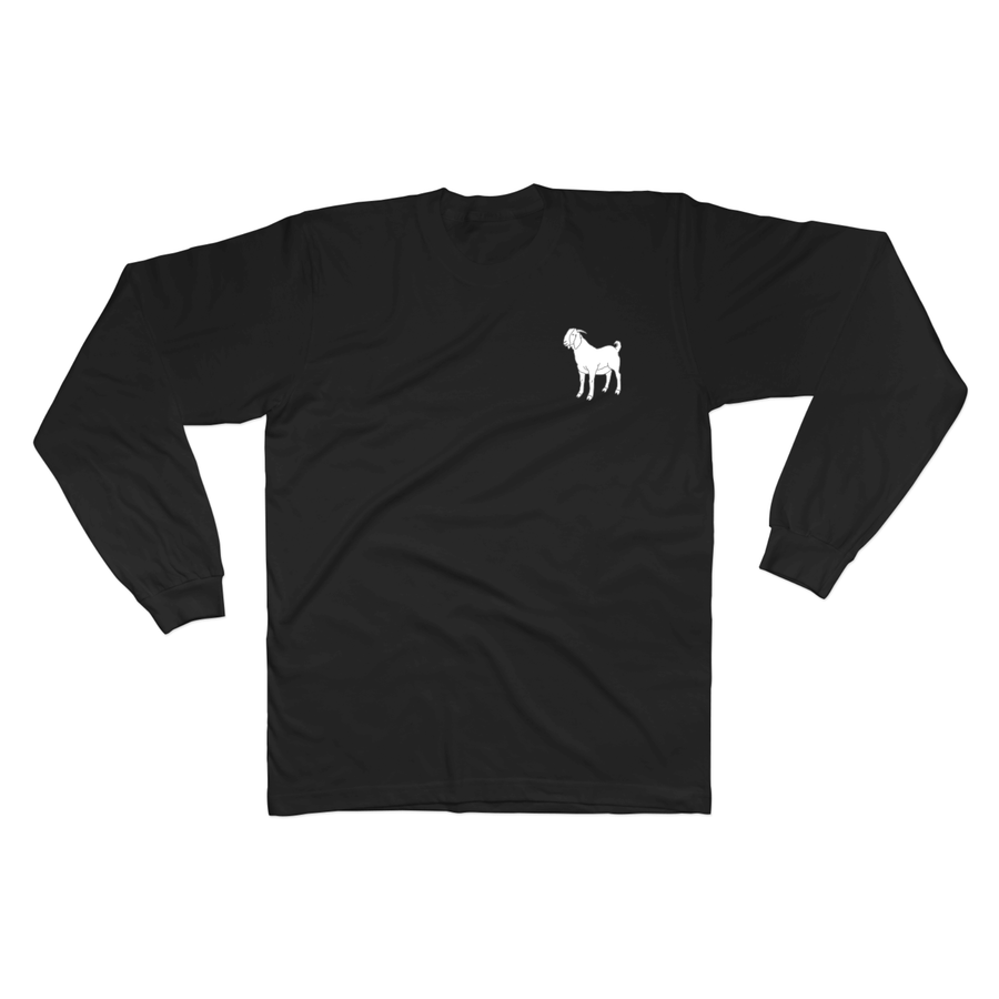Goat Design 2 - Long Sleeve Tee Norm Kelly 6DAD Hockey Dad Toronto Dad 6STORE Formosa Labs Dad Shirt
