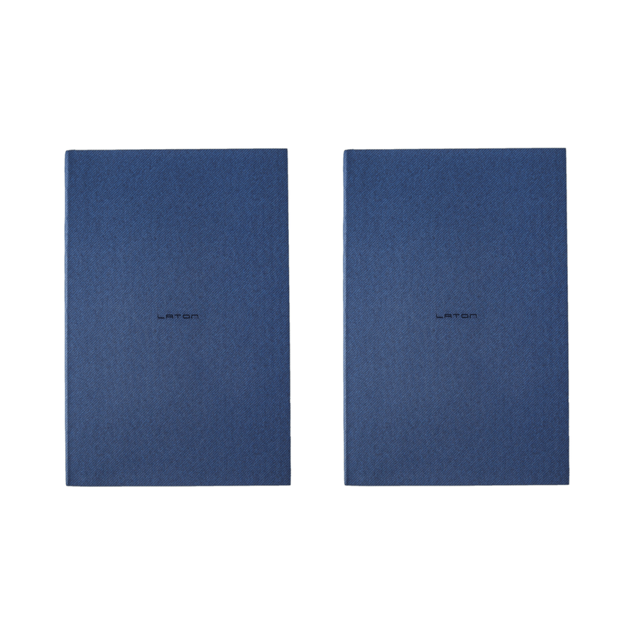 Laton Ruled Paper Notebook - Pack of 2
