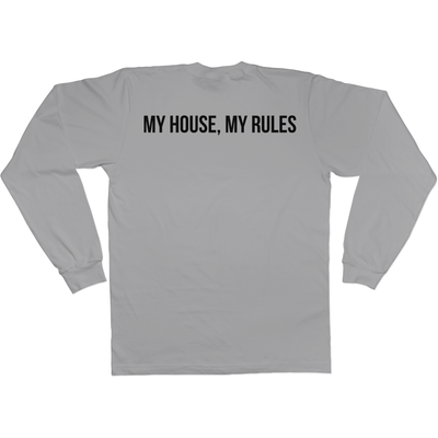 Momism - My house, my rules - Long Sleeve Tee