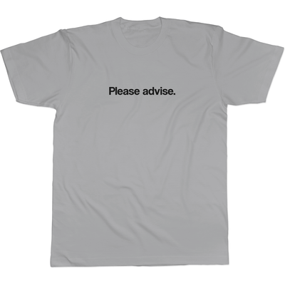 Please advise - Tee