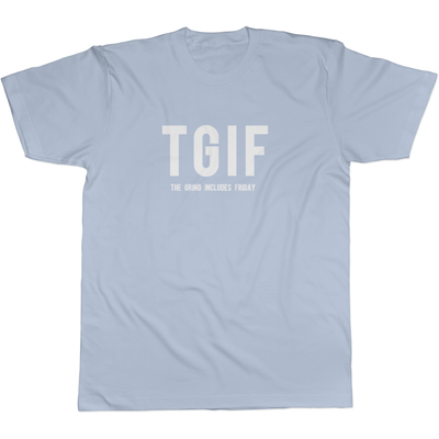 TGIF - Tee Light Blue / S