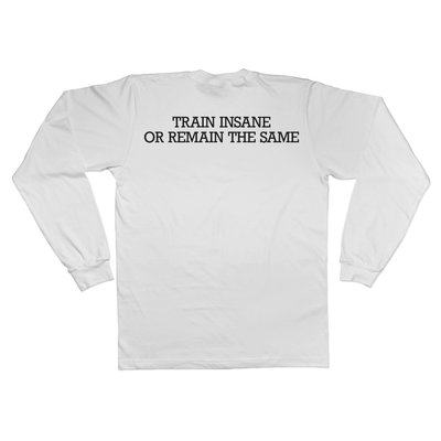 Train Insane Long Sleeve Tee Norm Kelly 6DAD Hockey Dad Toronto Dad 6STORE Formosa Labs Dad Shirt
