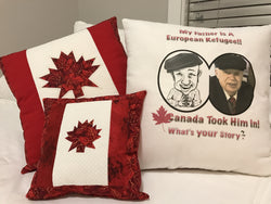 Patriotic Caricature Pillows