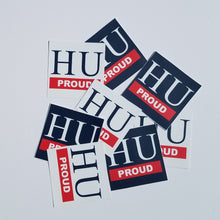 HU PROUD Sticker