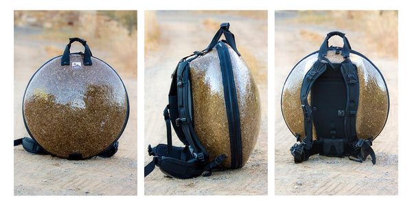 Ergonomic Durable Functional Handpan Hang Drum Hardshell Bag : Panji Bags