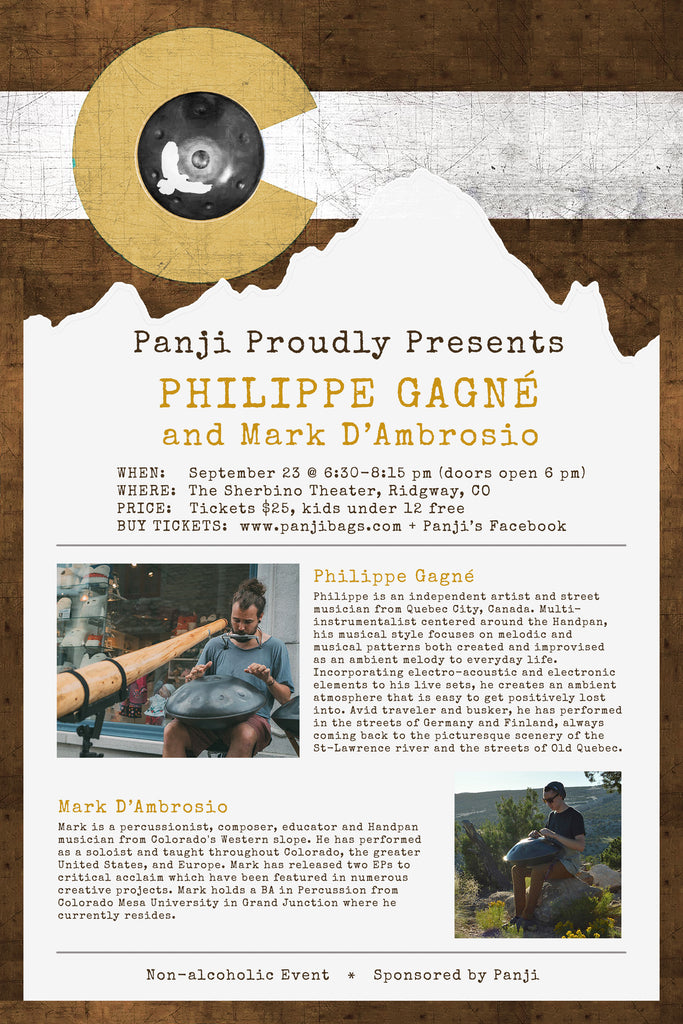 Philippe Gagne & Mark D'Ambrosio Concert - Sept 23, 2017