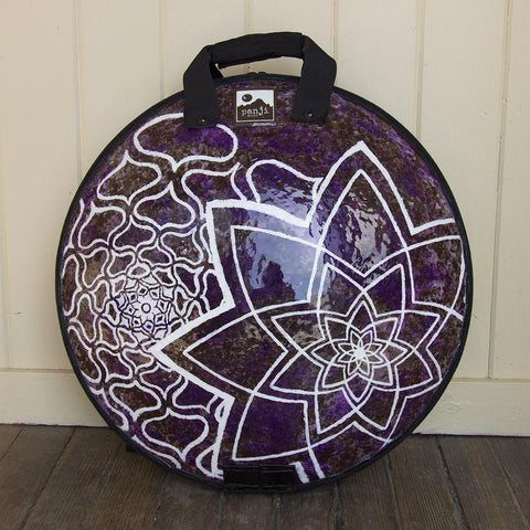 Purple Mandala Custom Art Panji Bag