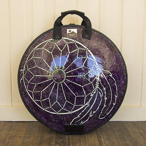 Purple Dream Catcher Custom Art Panji Bag