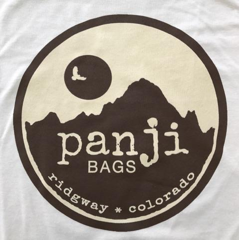 PANJI T-SHIRT : OFF-WHITE (tan print)