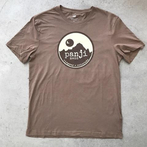 PANJI T-SHIRT : BROWN (tan print)